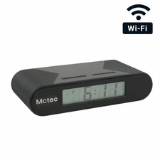 LawMate 1080P HD WiFi Pro Grade Desk Clock Hidden Camera with Night Vision