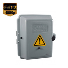 1080P HD Motion Activated Electrical Box Hidden Camera with 1 Year Battery