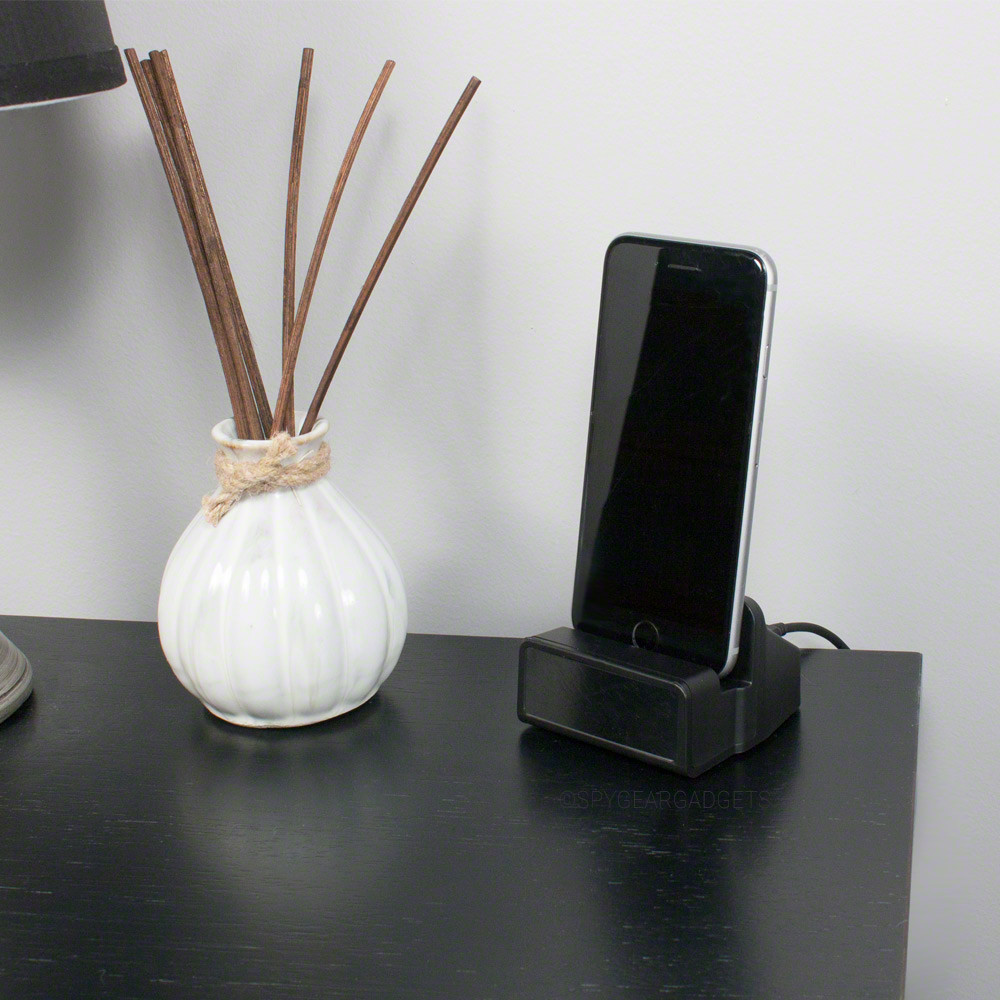 Docking Station Camera on Desk