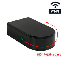 1080P HD WiFi Rotating Lens Black Box Hidden Camera
