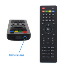 TV Remote Hidden Camera