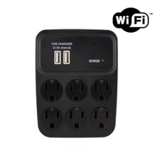 WiFi Streaming AC USB Outlet Hidden Camera