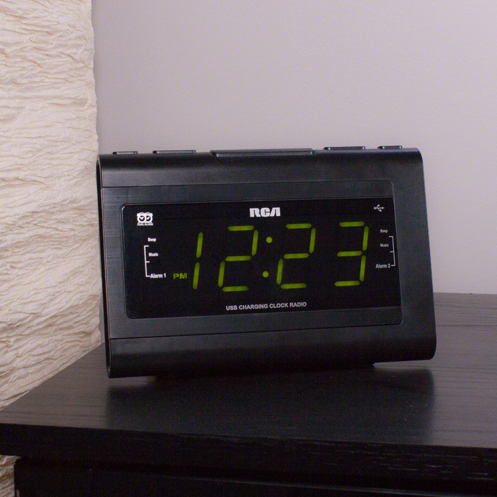 Pro Grade Desk Clock Camera on Table