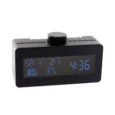 Self Recording Weather Station FM Clock Radio Hidden Camera