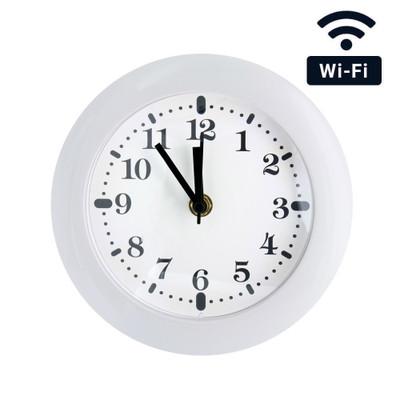 WiFi Streaming Wall Clock Hidden Camera