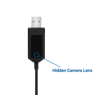 Smartphone Charger Cable Hidden Camera