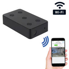 1080P HD WiFi Pro Grade Mini Black Box Hidden Camera with Night Vision