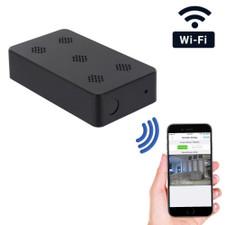 1080P HD WiFi Pro Grade Mini Black Box Hidden Camera with Night Vision