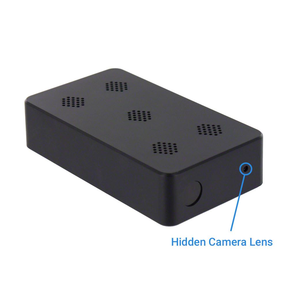 1080P HD Professional Grade DIY Mini Black Box Hidden Camera with Night  Vision