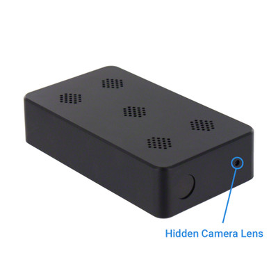 1080P HD Professional Grade DIY Mini Black Box Hidden Camera with Night Vision