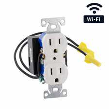 WiFi Streaming AC Outlet Hidden Camera