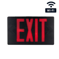 WiFi Streaming Exit Sign Hidden Camera
