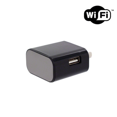 4K Ultra HD WiFi USB Wall Charger Hidden Camera with Night Vision