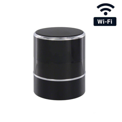 1080P HD WiFi Bluetooth Speaker Hidden Camera with Rotating Camera and Night Vision
