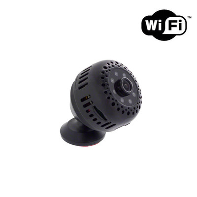 1080P HD WiFi Mini Security Spy Camera with Night Vision and Wide Angle Lens