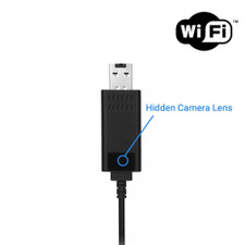 WiFi Streaming Power Cord Hidden Camera