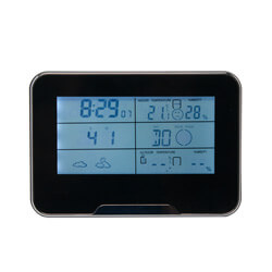 1080P HD WiFi Internet Streaming Weather Station Clock Hidden Camera