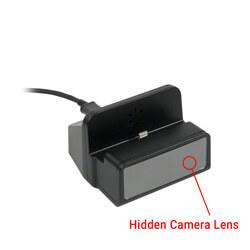 1080P HD WiFi Internet Streaming Charger Dock Hidden Camera