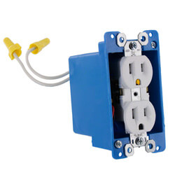 1080P HD WiFi Streaming AC Powered Electrical Outlet Hidden Camera