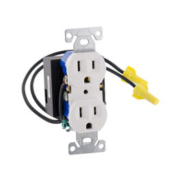 1080P HD WiFi AC Receptacle Functional Outlet Hidden Camera
