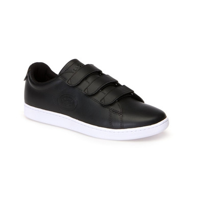 b8ce43bd1 Lacoste Men Shoes Carnaby Evo Strap 318 Color Black White 7-36SPM0018312