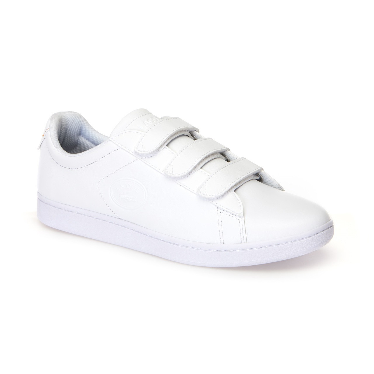 8ab89a380 Lacoste Men Shoes Carnaby Evo Strap 318 Color White White 7-36SPM001821G