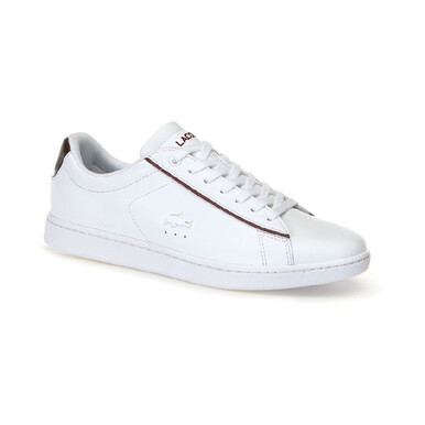 75cd29a02 Lacoste Women Shoes Carnaby Evo 318 Color White Burgandy 7-36SPW00422G1