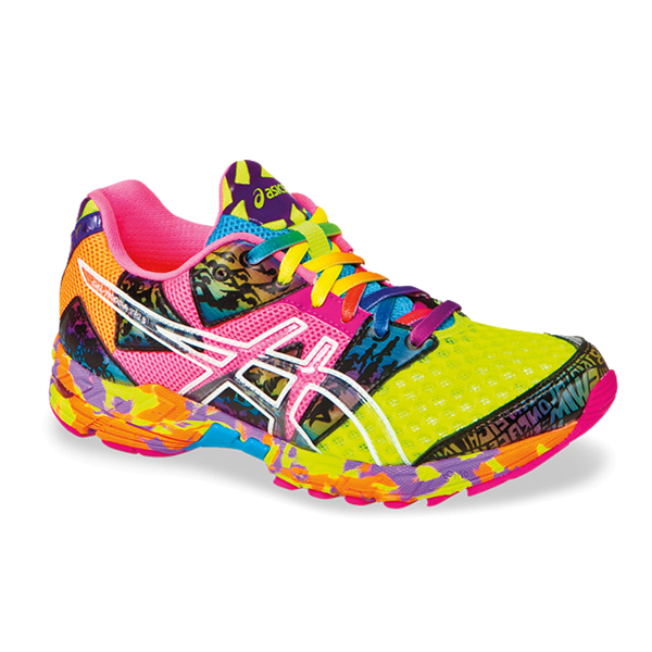 newest collection 644c7 9ef5e (OUT) Asics Women Shoes Gel NOOSA Tri 8 Color Flash yellow Flash Pink Multi  T356N0435