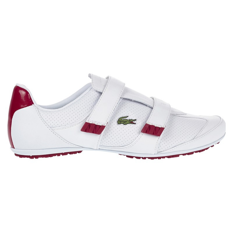 287968efb084 Lacoste Women Shoes Arixia LCR Color White Dark Red 7-28SPW10001Y8 ...