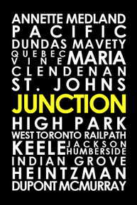 "The Junction 16 x 24"" art canvas"