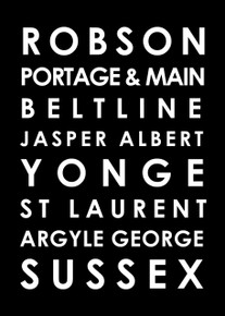 Famous Canadian streets