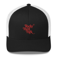Rocky Point Park Red LogoTrucker Cap