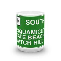 Misquamicut Beach Exit Mug