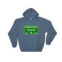 Downtown Newport Exit Hooded Sweatshirt