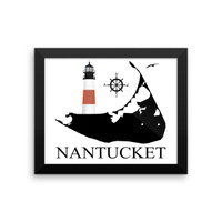 Nantucket Framed poster by RI Prints