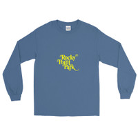 Rocky Point Park Yellow Logo Men's Long Sleeve Shirt