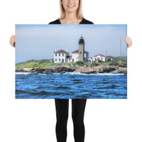 Beavertail Lighthouse Canvas