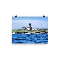 Beavertail LighthousePoster