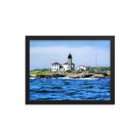 Beavertail Lighthouse Framed poster