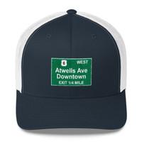 Atwells Ave Exit Trucker Cap