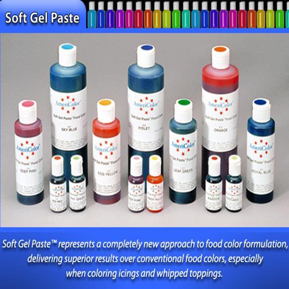 AmeriColor Soft Gel Paste Food Color 383g - iBake
