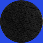 Masonite Boards Round Black
