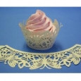 Cupcake Wrappers Butterfly Ivory