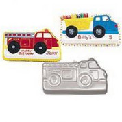 Wilton Fire Truck Pan