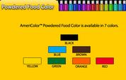 Americolor Powder Food Colour 3g