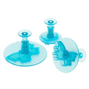 Ateco 3pc BUTTERFLY PLUNGER CUTTER SET