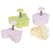 Ateco 4 Piece  Easter Cutter Set