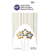 "Wilton 8"" Cookie Sticks  (20)"