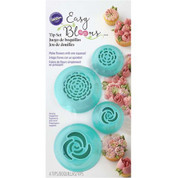 Wilton EASY BLOOMS FLOWER PIPING TIPS SET