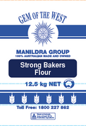 Manildra STRONG Bakers Flour 12.5kg